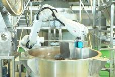 机器人上甑-铺料