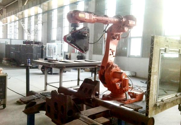 陕西高铁转向架焊缝打磨