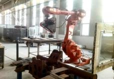 重庆高铁转向架焊缝打磨